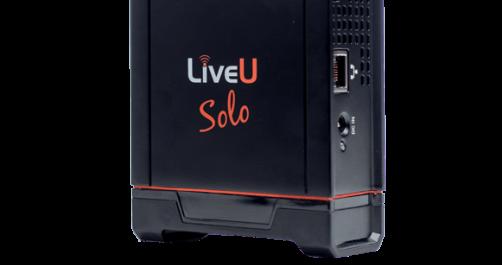 LiveU Solo Cellular Bonding for Live Streaming